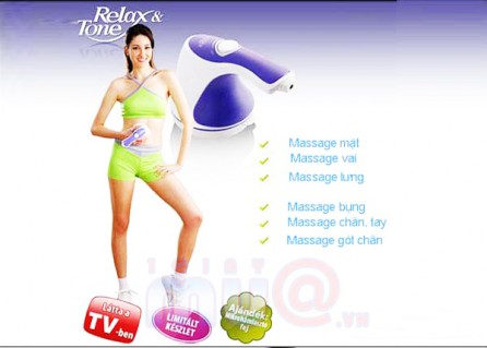 Máy Massage cầm tay Relax & Spin