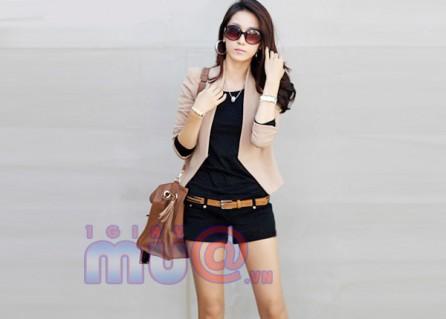 Áo vest nữ kiểu dáng form dài