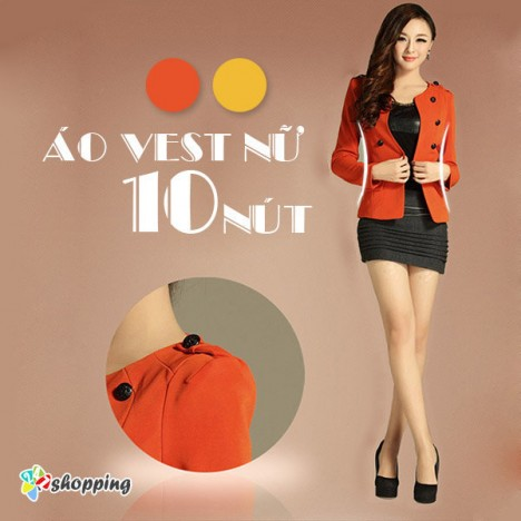 247 Shopping - Ao Vest Nu 10 Nut