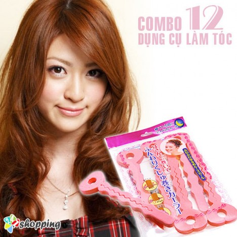 247 Shopping - Combo 12 Dung Cu Lam Toc