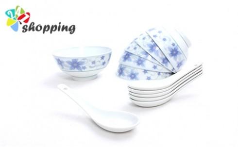 Bộ 6 Chén 6 Muỗng Cho Bữa Ăn Ngon