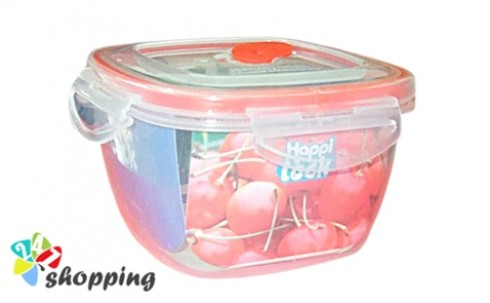 Bộ 3 Hộp Nhựa Happy Lock