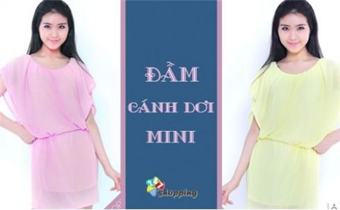 Đầm Cánh Dơi Mini