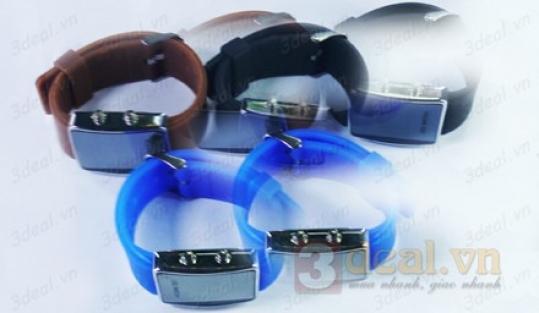 Đồng hồ led chữ nhật thời trang