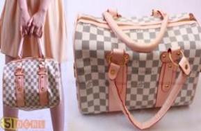 Cùng mua và sở hữu ngay túi xách Louis Vuitton kiểu dáng thanh lịch – tinh tế, chất liệu da cao cấp, đường may sắc xảo, phù hợp cho cô nàng công sở sành điệu chỉ với 150.000đ