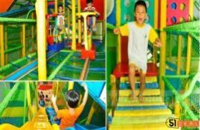 Khu vui chơi gia đình siêu nhân- nơi cho trẻ tha hồ chạy nhảy, thỏa sức vui chơi cùng bạn bè, rèn luyện cả thể chất lẫn tinh thần.
