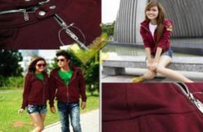 """Áo khoác RIB cao cấp kiểu dáng couple Hàn Quốc cho cả nam và nữ: Khẳng định phong cách thời trang sành điệu cùng """"người ấy"""" với ưu đãi hấp dẫn nào bạn, chỉ với 120.000đ"""
