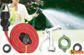 Công việc rửa xe, tưới cây, vệ sinh nhà cửa,... chưa bao giờ dễ dàng đến thế với vòi xịt nước tự động. Tiện lợi hơn, nhanh gọn hơn chỉ với 75.000đ