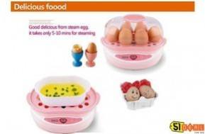 Chế biến món hấp thơm ngon, đơn giản và nhanh chóng với nồi hấp trứng đa năng 2 tầng, tiện dụng giá chỉ 330.000Đ. - 1 - Công Nghệ - Điện Tử