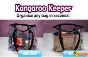 Combo 2 túi Kangaroo Keeper, giúp bạn sắp xếp gọn gàng mọi thứ trong túi một cách nhanh chóng. Chỉ 89.000đ