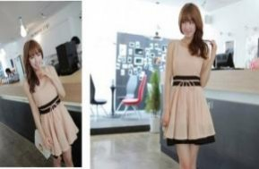 Đáng yêu như một nàng công chúa với Đầm xòe cột dây Hàn Quốc thời trang. Giá chỉ 125k