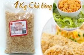 Bỗ dưỡng, chất lượng với 1kg Chà Bông Thịt Gà loại 1 thương hiệu Việt – 100% thịt gà tươi, không phẩm màu, không chất bảo quản đạt chứng nhận an toàn thực phẩm của sở y tế chỉ với giá 120,000 VNĐ