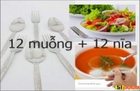 """Với bộ muỗng nĩa Inox 51deal giới thiệu trong deal này bàn ăn của bạn, chuyến đi của bạn sẽ """"tươm tất"""" hơn. Giá chỉ 73.000đ cho 24 cái (12 muỗng + 12 nĩa)"""