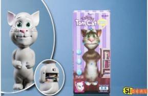Mèo Tom biết nói (loại lớn) thật ngộ nghĩnh và đáng yêu. Món quà đầy ý nghĩa cho các bé mùa Giáng Sinh. Chỉ với 110.000 đồng