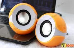 Loa mini Multimedia với thiết kế hình trái cam dễ thương, nhỏ gọn, đem đến bạn những phút giây giải trí tuyệt vời nhất, bùng nổ cùng những ca khúc yêu thích mọi lúc mọi nơi với giá chỉ 96.000Đ. - 1 - Công Nghệ - Điện Tử