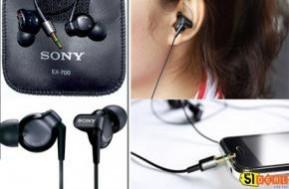 Trông thật đẳng cấp và sành điệu với tai nghe SONY EX-700. Hãy thưởng thức âm nhạc theo cách riêng của bạn chỉ với 69.000 đồng