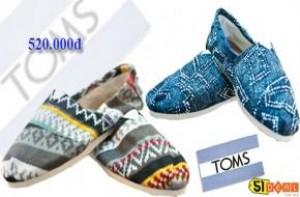 Đơn giản nhưng cá tính, thoải mái nhẹ êm khi mang với giày Toms, phù hợp mọi lứa tuổi và trang phục sành điệu. Voucher 165.000đ cho bạn giá trị sử dụng đến 520.000đ