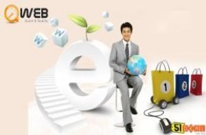 Cơ hội sở hữu Gói dịch vụ Website bán hàng + Hosting + Domain với giá 2.400.000đ nay chỉ còn 699.000 đ. Duy nhất cho 50 thành viên đầu tiên từ ngày 18/01 – 28/02/2013 tại Qweb.vn. Hãy nhanh tay đăng ký để nhận ngay ưu đãi