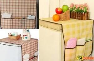TẤM PHỦ TỦ LẠNH - Bảo vệ nóc tủ, đồng thời giữ cho tủ lạnh tránh mọi bụi bẩn, chống thấm nước. Giảm giá chỉ còn 40.000đ