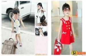 Đầm kaki trẻ em Babi Kit - Kiểu dáng cực xinh xắn, đáng yêu, cho bé vẻ ngoài như một thiên thần. Giá chỉ 95.000đ
