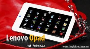Cơ hội sở hữu Máy tính bảng Lenovo Opad 712F tại TheGioiTrucTuyen.vn chỉ với 1.919.000đ. Với thiết kế tinh tế nhỏ gọn, Opad 712F sẽ là thiết bị giải trí đa phương tiện sở hữu nhiều tính năng hấp dẫn của hệ điều hành Android 4.0 dành cho bạn đấy