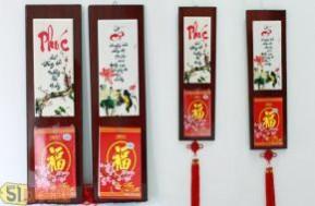 Quà tặng ý nghĩa, độc đáo cho ngày nhà giáo Việt Nam và cùng đón năm mới Quý Tỵ với lịch tranh đá thư pháp. Lạ và sang trọng với chất liệu đá Granit, giá chỉ 175.000đ