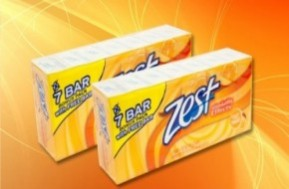 Chỉ với 55.000đ, bạn sở hữu combo 07 cục Xà phòng ZEST hương Cam - Chanh tinh khiết chính hãng nhập khẩu từ Mỹ - tiết kiệm và tiện lợi cho mọi nhu cầu vệ sinh trong gia đình