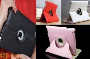 Cho chiếc Ipad thêm sành điệu và thời trang hơn với bao da xoay 360 độ. Thiết kế độc đáo giúp đặt Ipad nhiều góc độ khác nhau chỉ 139.000đ. Hotdeal giá cực rẻ, cùng nhóm mua ngay bạn nhé