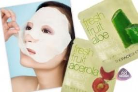 Bộ 05 mặt nạ The Face Shop Korea, với tinh chất trái cây thiên nhiên 100% cho làn da mịn màng