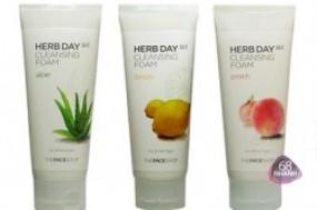 Sữa rửa mặt Herb Day 365 TheFACEShop cho một làn da trắng hồng, mịn màng và khỏe mạnh
