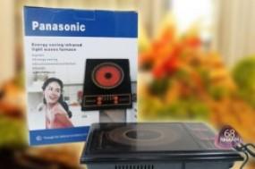 Bếp điện quang Panasonic an toàn không gây khói, chịu nhiệt độ cao, nấu ăn nhanh và tiết kiệm ...