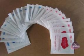 Set 2 hộp bông cotton làm sạch và dưỡng da (60 miếng) dành cho máy rửa mặt massage MYM.