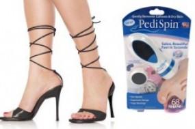 Máy chăm sóc chân Pedi Spin loại bỏ những mẫu da thừa chai sần, cho đôi bàn chân của bạn luôn ...