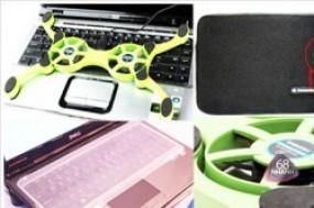 Combo 3 sản phẩm chăm sóc và bảo vệ Laptop của bạn gồm 1 túi chống sốc + 1 đế tỏa nhiệt + ...