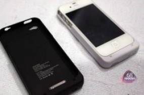Ốp lưng kiêm Pin Sạc dự trữ Iphone 4/4S thiết kế sang trọng, duy trì năng lượng cho dế yêu ...