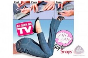 Combo 2 hộp Style Snaps, bạn không phải bận tâm về chiều dài của chiếc quần, váy, chỉ cần ...