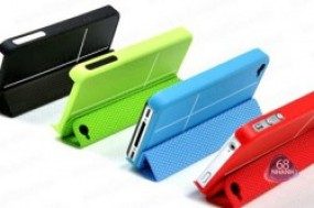 Chiếc ốp lưng smart cover thời trang, tiện lợi và sang trọng bảo vệ chiếc điện thoại iPhone ...