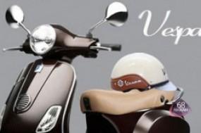 An toàn trên mọi nẻo đường cùng mũ bảo hiểm Vespa cao cấp, phù hợp cho cả nam và nữ.