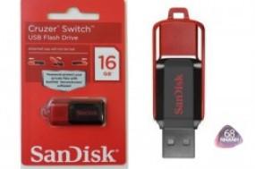 USB Sandisk Cruzer Switch 16Gb-BH 1 đổi 1 trong 2 năm-Thỏa sức lưu trữ dữ liệu cho công việc, học ...