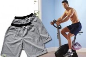 Combo 2 quần short thun thể thao, năng động giúp bạn thoải mái khi vận động
