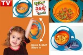 Bát thông minh tự cân bằng Gyro Bowl cho bé yêu nhà bạn, sẽ giúp bé thích thú hơn khi ăn và giúp ...