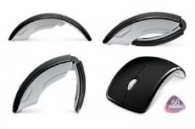 Chuột không dây wireless MicroSoft Arc với thiết kế đẹp mắt, độc đáo và phong cách và sang ...