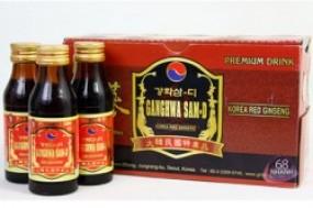 Nước Hồng sâm Ganghwa Sam-D là sản phẩm được chiết xuất từ củ nhân sâm hàn quốc 6 năm ...