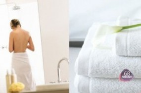 Khăn tắm chòang lớn cao cấp 100% cotton mềm mại, thấm hút tốt chỉ còn 76.000 đ