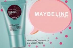 Combo 2 chai kem lót trang điểm BB Cream Maybelline New York cho làn da tươi sáng và rạng ngời hơn