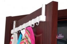 Giá treo cửa di động đa năng, tiện dụng cho mọi gia đình, giúp bạn treo móc đồ ngăn nắp và ...