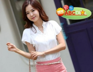 ABC Deal - Ao so mi tay beo dinh hat. GIA CHI...