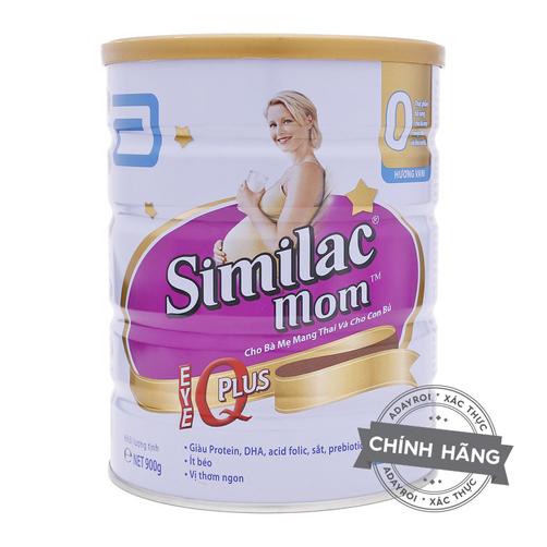 Sữa bà bầu Abbott Similac Mom 900g hương vani