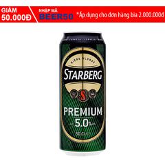 A Đây Rồi - Bia Starberg Premium lon 500ml