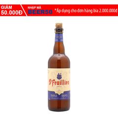 A Đây Rồi - Bia St-Feuillien Tripel chai 750ml